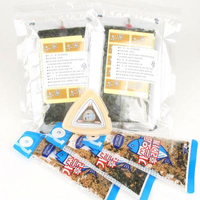 삼각김밥김50매+50매+삼각틀+가쓰오후리가께3개