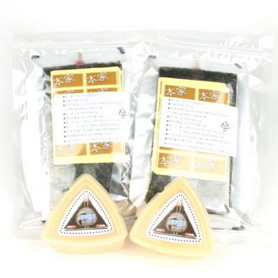 삼각김밥김50매+50매+삼각틀2개