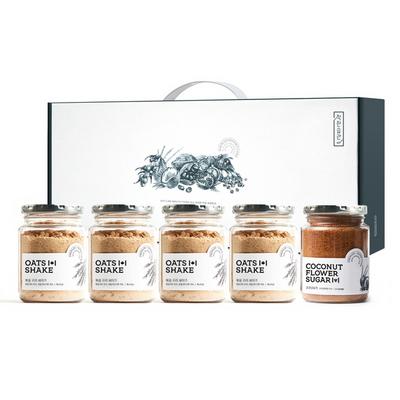 착한습관 프리미엄 통귀리쉐이크 5종 선물세트 (통귀리쉐이크 4개 코코넛슈가 1개)