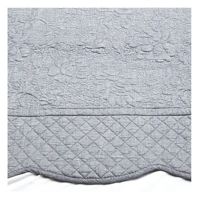 장미순면 워싱러그 침대패드 160X210(한평) 거실러그 카페트 침대패드