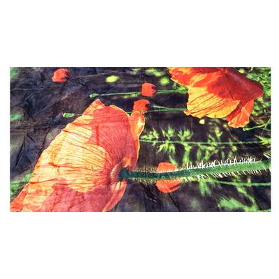 호박꽃 밍크 무릅담요 양면  130x190