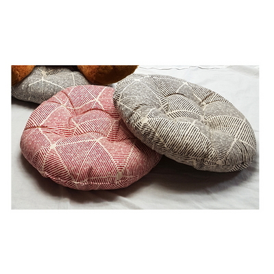 북유럽풍 빵빵이 방석 원지름45cm높이15cm 일체형 강아지 방석 애견방석 고양이방석