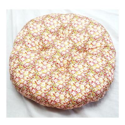 꽃잎 빵빵이 방석 원지름45cm높이10cm 일체형 강아지 방석 애견방석 고양이방석