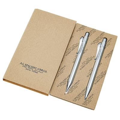 BRG156 알루미늄 미니 샤프+볼펜 선물세트