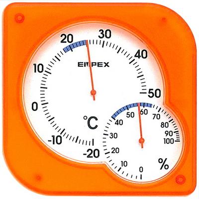 EMPEX  엠펙스 온습도계 TM-5604(오렌지)