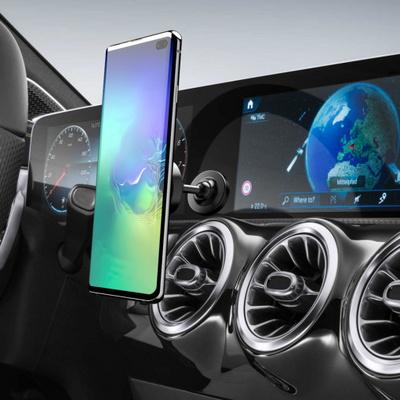 더블디 차량용 마그네틱 스마트폰 자석 거치대 블랙