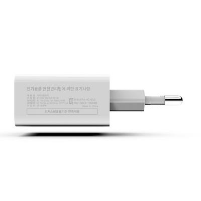 USB PD 퀵차지 C타입 고속 급속 충전기 18W 블랙