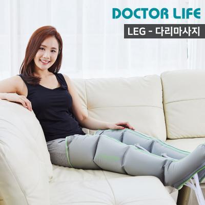 닥터라이프 라이프3 마사지기 본체+다리+허리커프(그린)