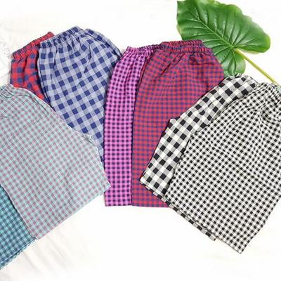 100410 남자 반바지 잠옷 파자마 5부 면 잠옷바지 홈웨어 여름