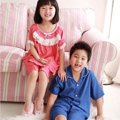 100398 아동잠옷 반팔 레이온 여름잠옷