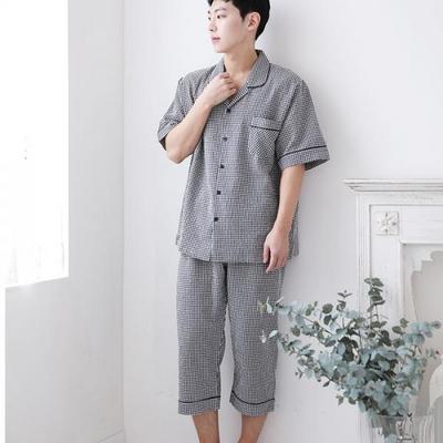 100426 남자잠옷 반팔 여름잠옷 파자마 7부
