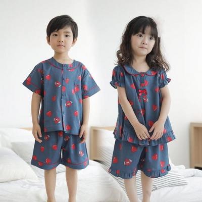100531 아동잠옷 반팔 여름잠옷 레이온100% 반팔파자마 아동파자