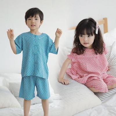 100532 아동잠옷 반팔 여름잠옷 레이온100% 반팔파자마 아동파자