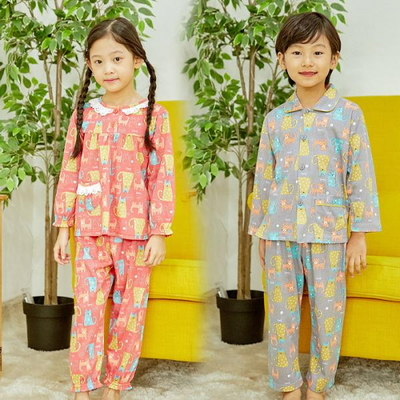 100688 아동잠옷 남자아이 여자아이 파자마 잠옷 초등학생 파티