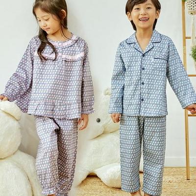 100690 아동잠옷 남자아이 여자아이 파자마 잠옷 초등학생 파티