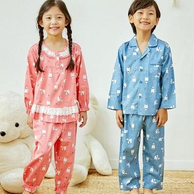 100691 아동잠옷 남자아이 여자아이 파자마 잠옷 초등학생 파티