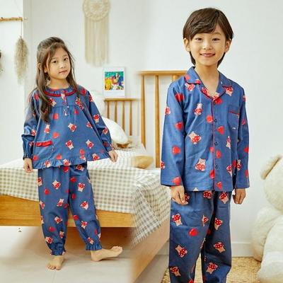 100692 아동잠옷 남자아이 여자아이 파자마 잠옷 초등학생 파티