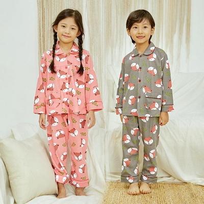 100700 아동잠옷 남자아이 여자아이 파자마 잠옷 초등학생 파티