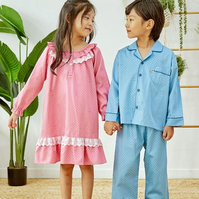 100704 아동잠옷 남자아이 여자아이 파자마 잠옷 초등학생 파티