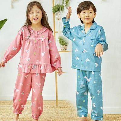 100703 아동잠옷 남자아이 여자아이 파자마 잠옷 초등학생 파티
