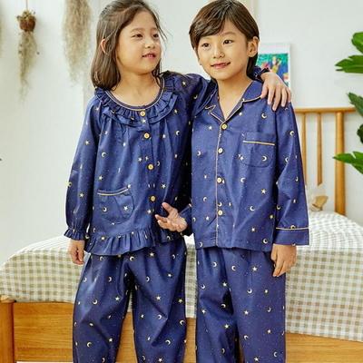 100702 아동잠옷 남자아이 여자아이 파자마 잠옷 초등학생 파티
