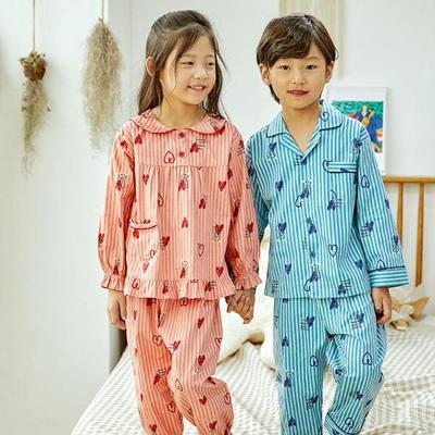 100729  아동잠옷 남자아이 여자아이 파자마 잠옷 초등학생 파티