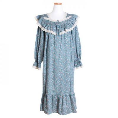 200267 여자원피스 원피스잠옷 모달면 잠옷 가을잠옷 긴팔잠옷