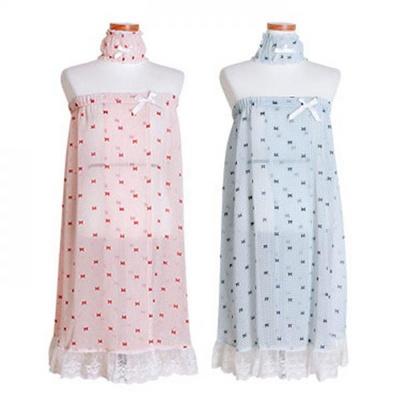 200263 여자원피스 원피스잠옷 쉬폰랩가운 가을잠옷 긴팔잠옷