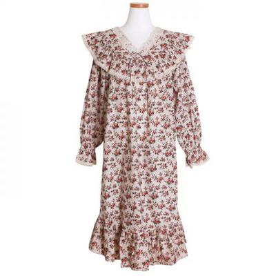 200259 여자원피스 원피스잠옷 면 잠옷 가을잠옷 긴팔잠옷 쿠폰