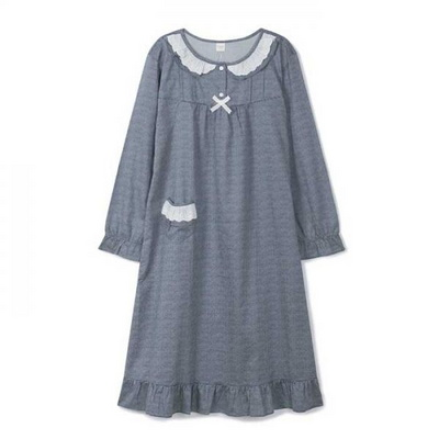 200311 여자잠옷 잠옷상하세트 면 잠옷 가을잠옷 긴팔잠옷
