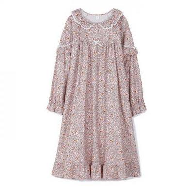 200359 여자원피스 원피스잠옷 면 잠옷 가을잠옷 긴팔잠옷