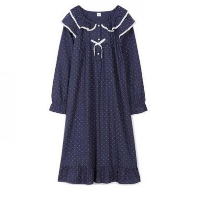 200355 여자원피스 원피스잠옷 면 잠옷 가을잠옷 긴팔잠옷