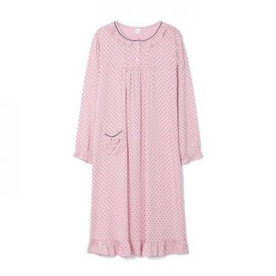 200354 여자원피스 원피스잠옷 레이온 텐셀 잠옷 가을잠옷 긴팔