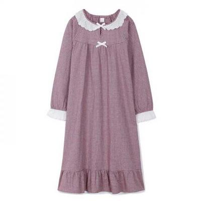 200353 여자원피스 원피스잠옷 면 잠옷 가을잠옷 긴팔잠옷