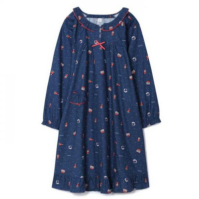 200352 여자원피스 원피스잠옷 면 잠옷 가을잠옷 긴팔잠옷