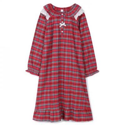 200350 여자원피스 원피스잠옷 면 잠옷 가을잠옷 긴팔잠옷