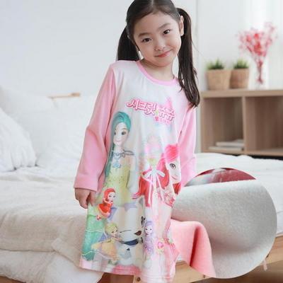 100821 여자원피스잠옷 실내복 홈웨어 시크릿쥬쥬밍크