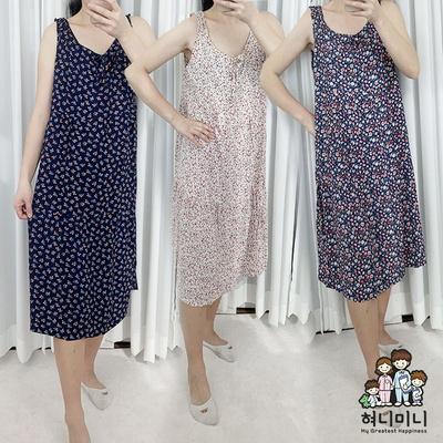 101116 여자원피스 민소매 원피스잠옷 홈웨어 레이온 나시 여름