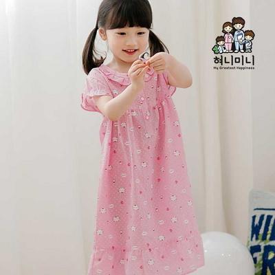 600067 아동잠옷 원피스잠옷 여자아이 여름잠옷 아이잠옷