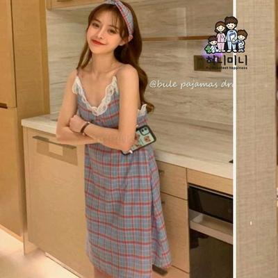 500039 여자원피스 민소매 원피스 여름잠옷 파자마 원피스잠옷