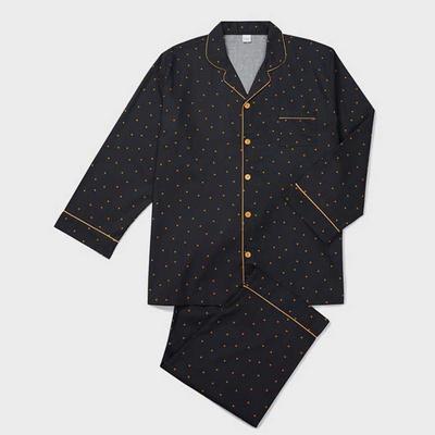 201042 남자잠옷 잠옷세트 면 모달 잠옷 긴팔잠옷 파자마 홈웨어