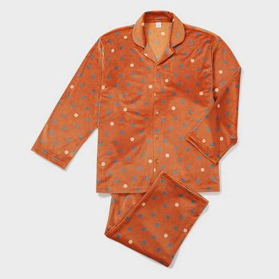 201256 남자잠옷 잠옷세트 스판 극세사 잠옷 긴팔잠옷 파자마