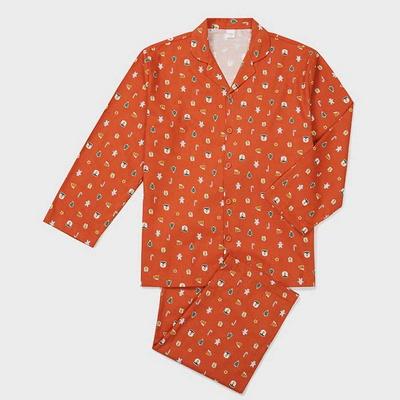201247 남자잠옷 잠옷세트 면 잠옷 긴팔잠옷 파자마 홈웨어