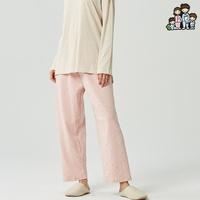 800314 여자 잠옷바지 다이마루 면 기모 파자마 국내생산