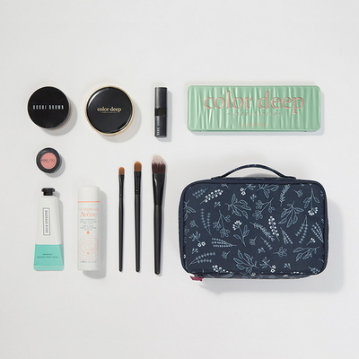 BOTANICAL BEAUTY POUCH TRAVEL