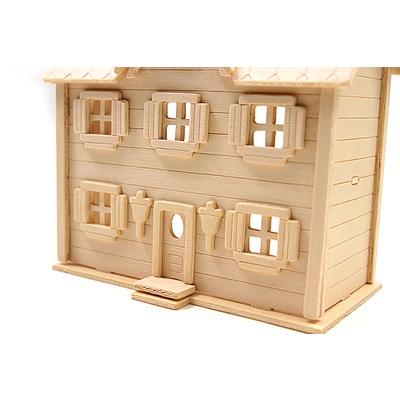 DIY나무조립모형인형의집881