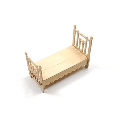DIY나무조립모형인형가구침실세트