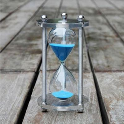 고급형 아크릴 모래시계(대)(블루)-1시간용
