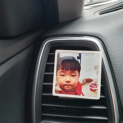 차량용 송풍구 제작 명품 석고 방향제 (5ml액상포함)