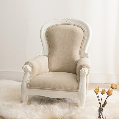 프렌치 백일 의자